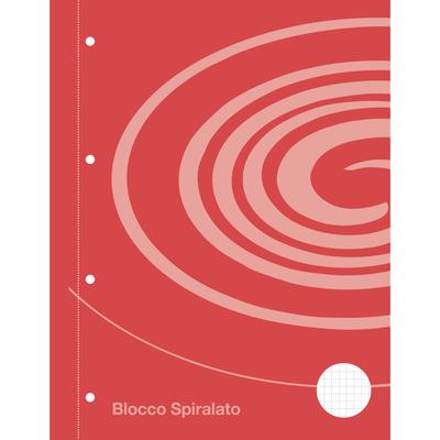 Blocco  Spirale Auchan 5mm.  60 fogli A4 con fori