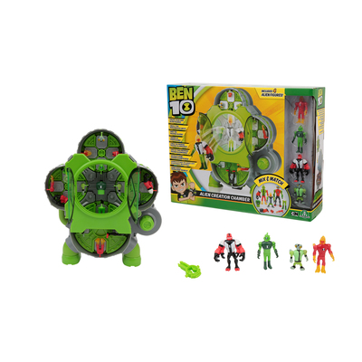 Ben10 Alien Creation Chamber + 4 Pers.