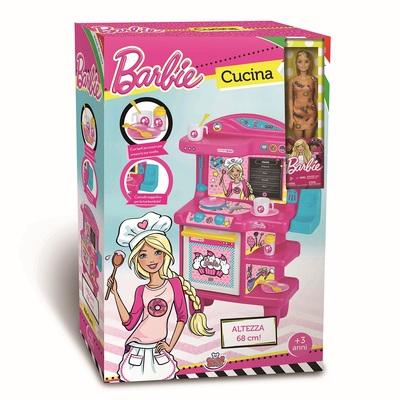 Cucina Di Barbie 68 Cm. Con Barbie